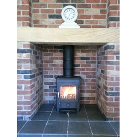 Clearview Pioneer 400 5kw multi fuel stove