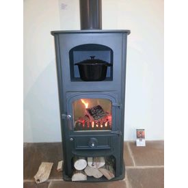 Clearview Pioneer Oven 6kw stove