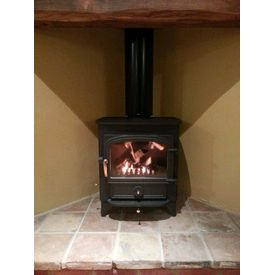 Clearview Vision 500 8kw multi fuel stove