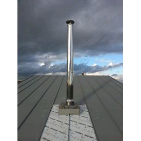 Stainless Steel twin wall insulated chimney system