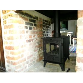 Hunter Hawk 4 Double Sided Double Depth stove