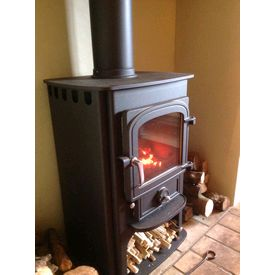 Clearview Solution 400 5kw convection stove