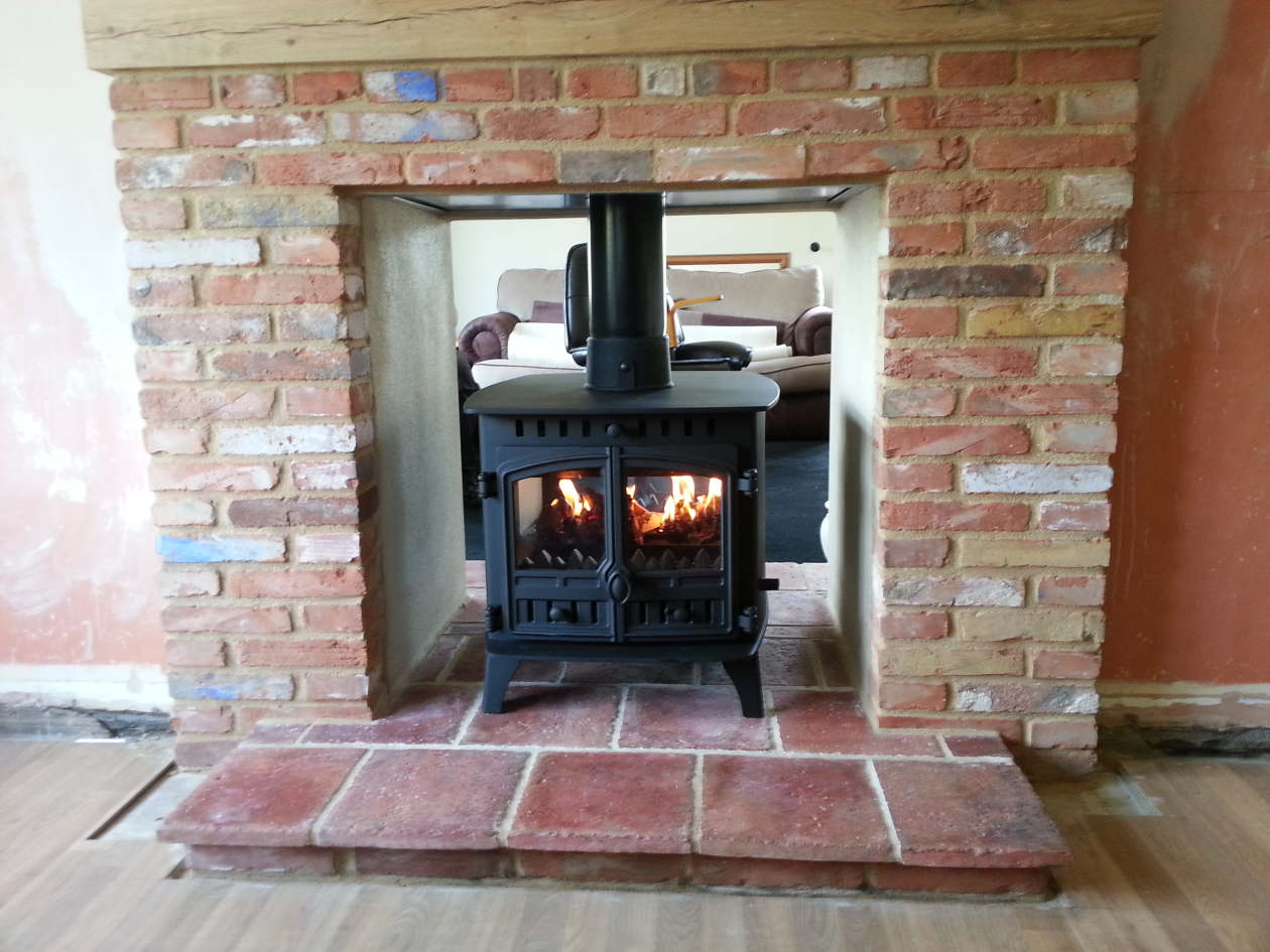 Fireplace alteration fireplace and chimney building - How to make a brick fireplace look modern ...